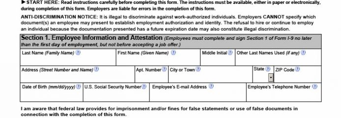 Uscis Releases Revised Version Of Form I 9 Virginia Benefit